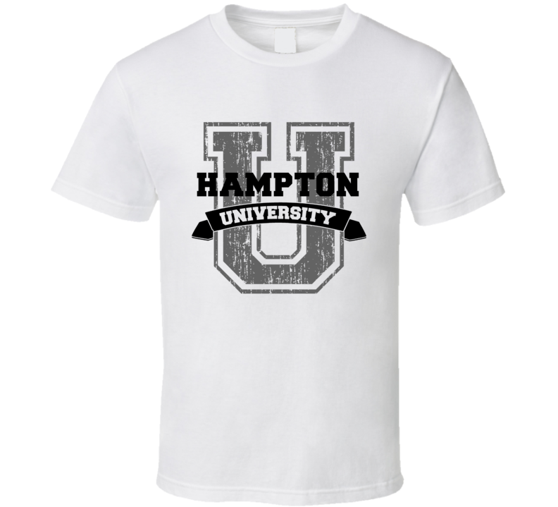 Hampton University Funny Name T Shirt