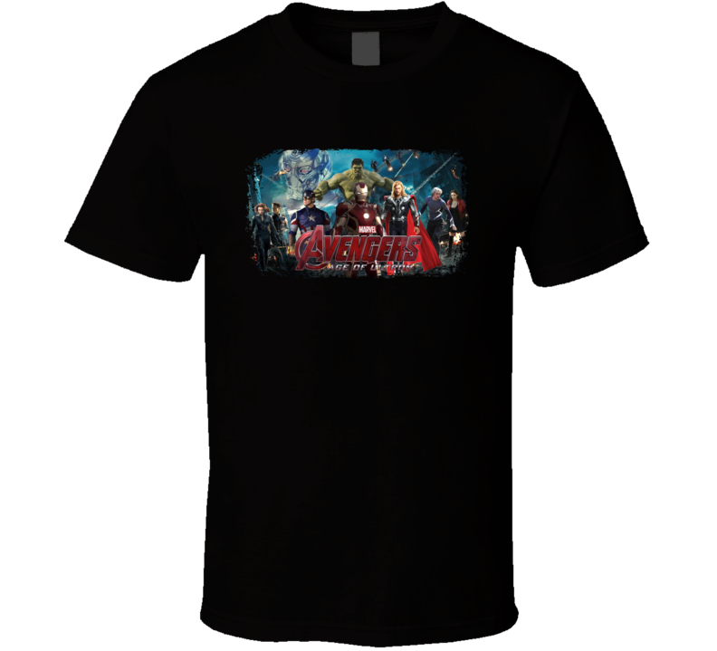 Avengers Age Of Ultron Movie Poster T Shirt