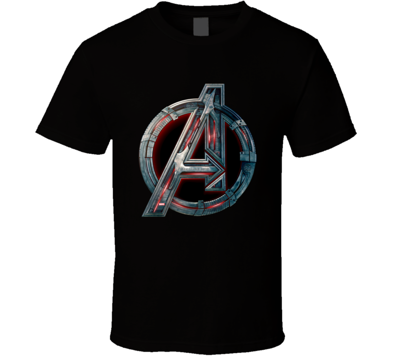 Avengers A Logo Age Of Ultron Movie T Shirt