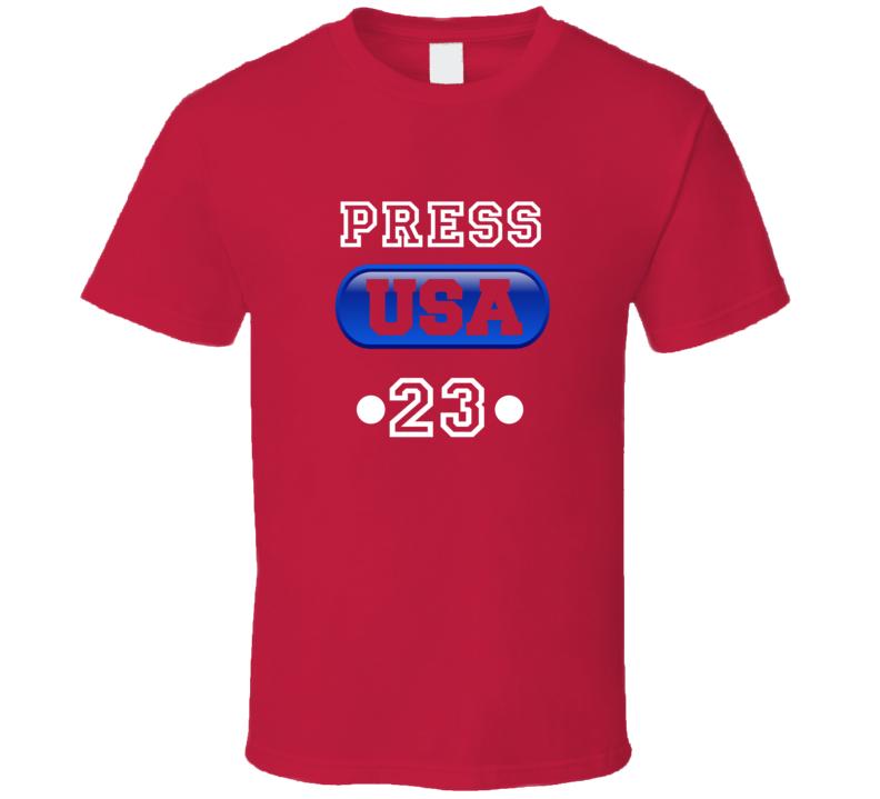 Christen Press Team Usa Womens World Cup Soccer Champions Jersey 23 T Shirt
