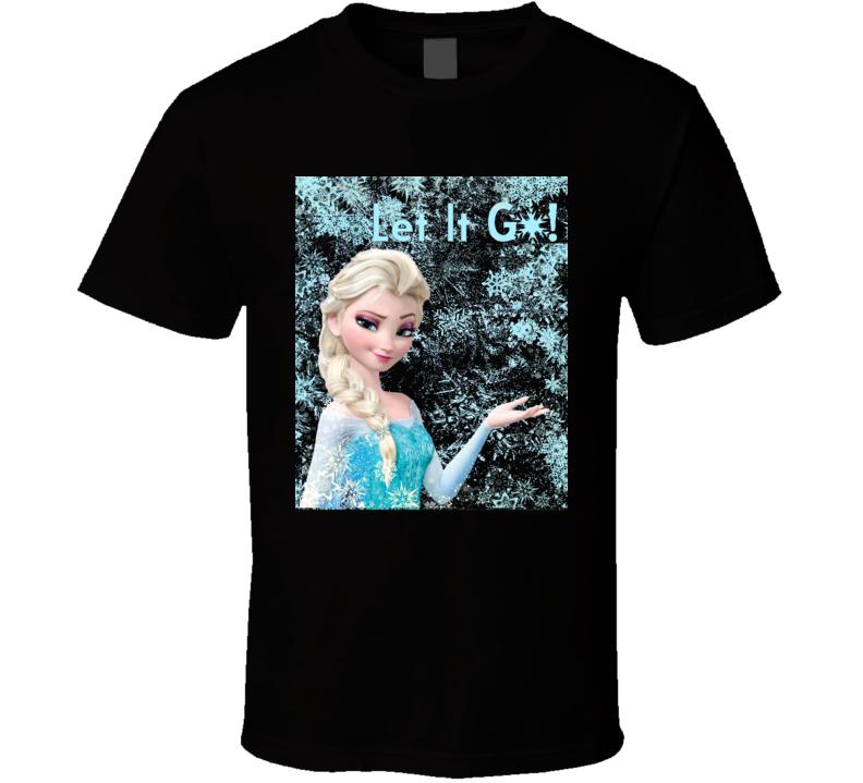 Frozen Elsa Let It Go Graphic T Shirt