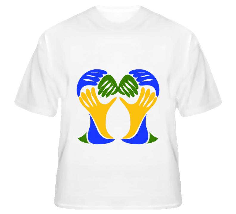 World Cup 2014 Parody Boob Grab Funny Ladies T Shirt