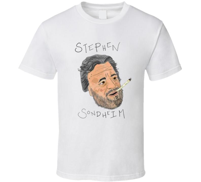 Rachel Bloom Tonys Stephen Sondheim Smoking Weed Joint Funny Award Show Celebrity Inspired T Shirt