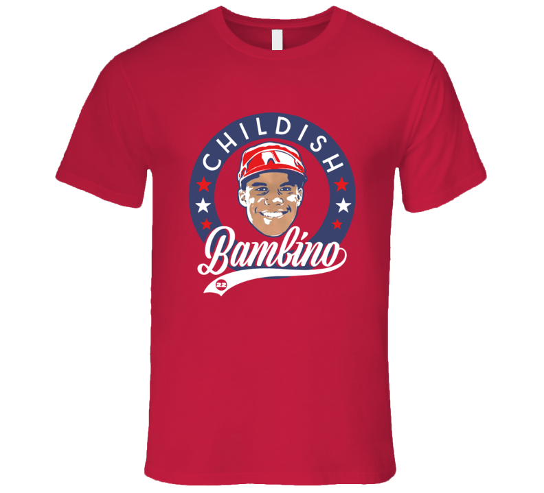 Childish Bambino Washington Baseball Juan Soto 19 Year Old Star Player 22 T Shirt