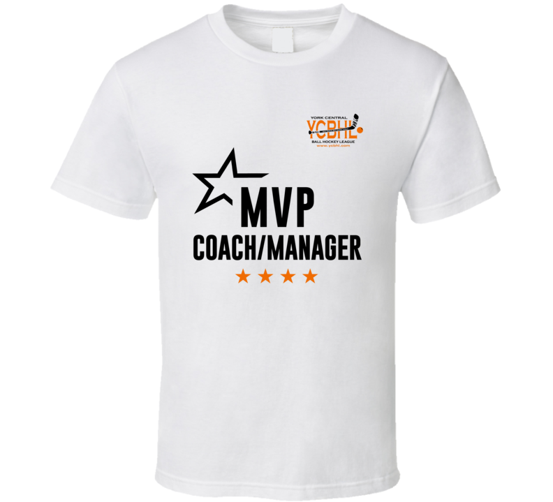 Mvp Coach Manager Ycbhl White Version T Shirt