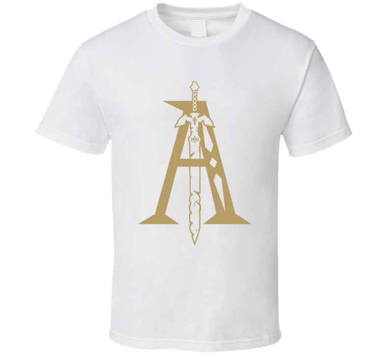 Zelda Breath Of The Wild Letter A Nintendo Switch Video Game Gamer T Shirt
