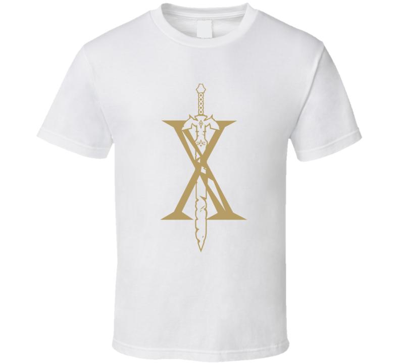 Zelda Breath Of The Wild Letter X Nintendo Switch Video Game Gamer T Shirt