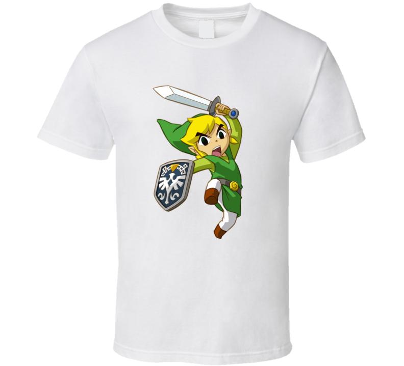 Legend Of Zelda Link Video Game Gamer T Shirt