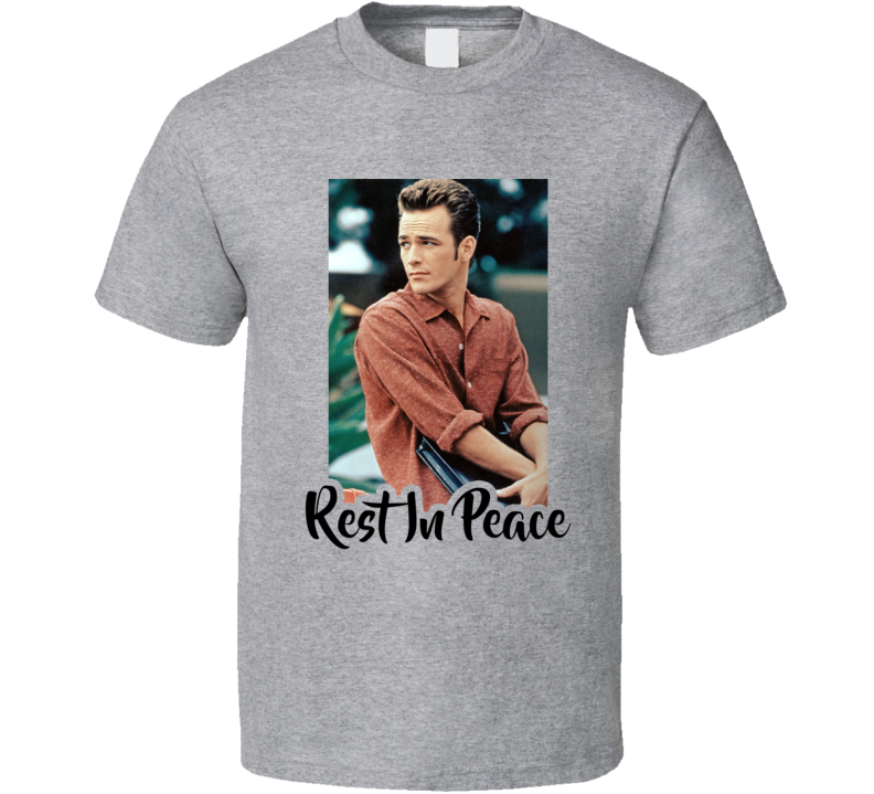 Luke Perry Riverdale 90210 Actor Fred Andrews Dylan Mckay Rest In Peace Rip Fan Dies 52 T Shirt