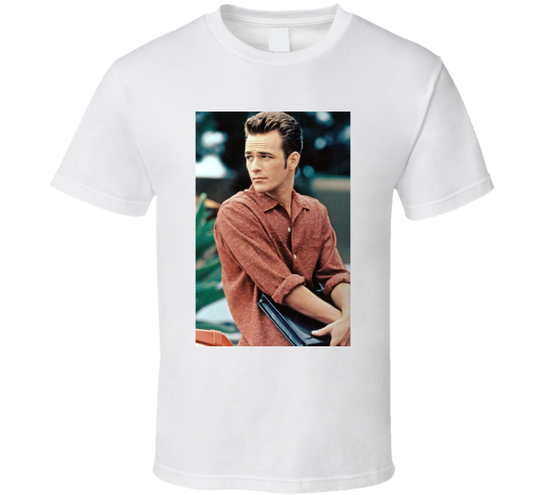 Luke Perry Riverdale 90210 Actor Fred Andrews Dylan Mckay Rest In Peace Memorial Rip Fan T Shirt