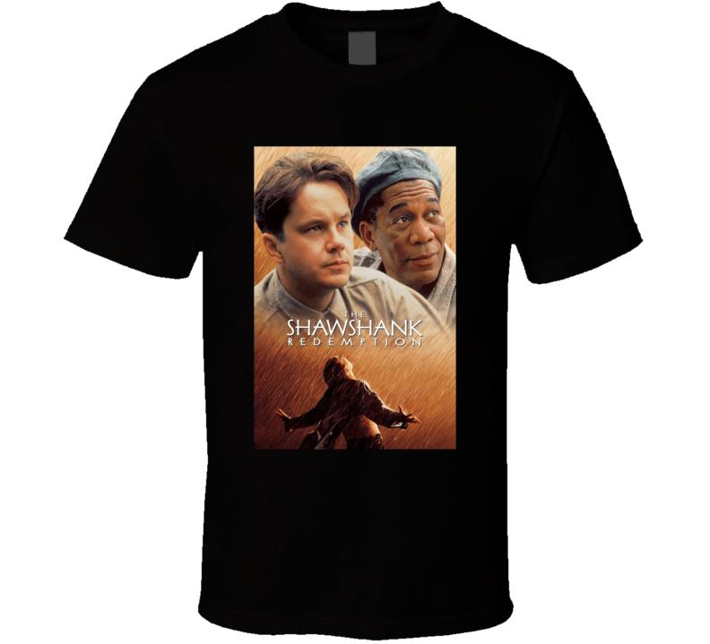 The Shawshank Redemption Retro Prison Movie Fan T Shirt