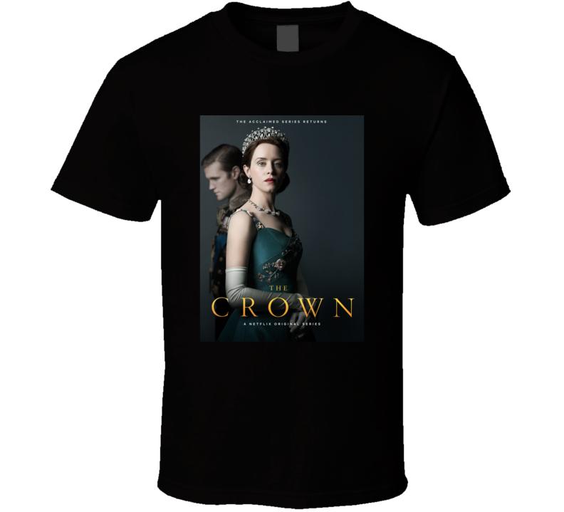The Crown Tv Show Fan T Shirt