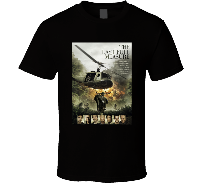 The Last Full Measure Cool Movie Fan Poster T Shirt
