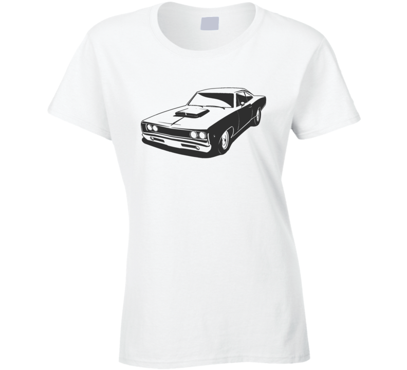 Vsco Girl Inspired Vintage Car Stylish Fad Oversized Costume Ladies T Shirt