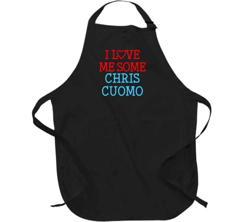 I Love Me Some Chris Cuomo Fan Heart Celeb Gift Apron