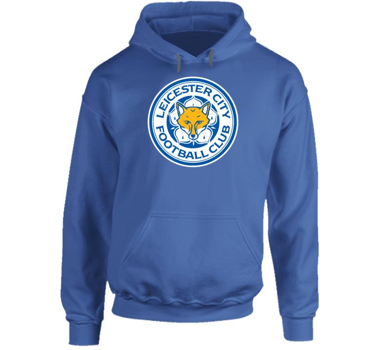 Leicester City Logo Fox England Football Club Match Hoodie