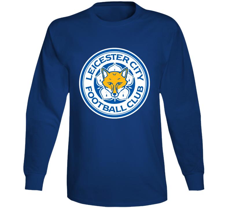 Leicester City Logo Fox England Football Club Match Long Sleeve