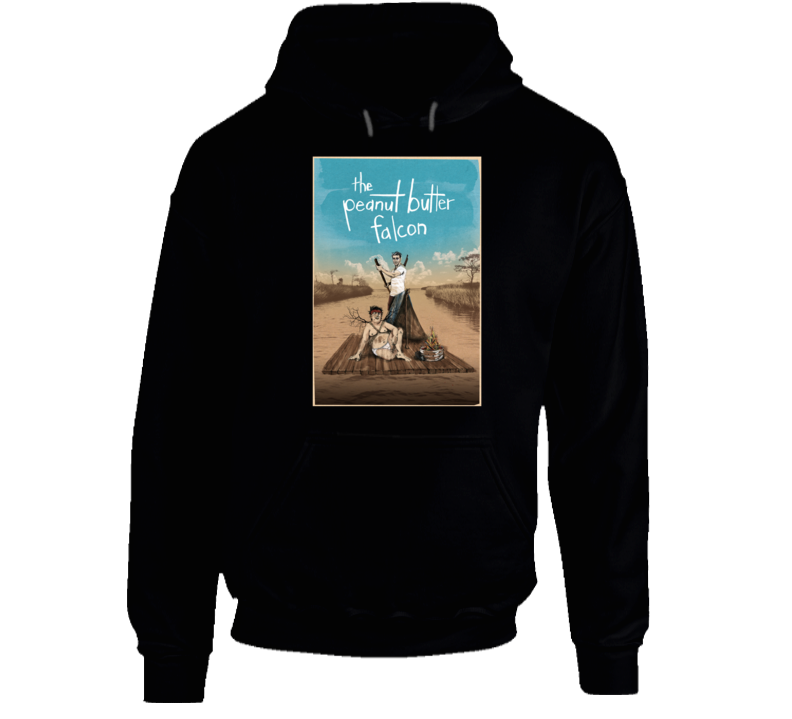 The Peanut Butter Falcon Cool Movie Fan Poster Hoodie