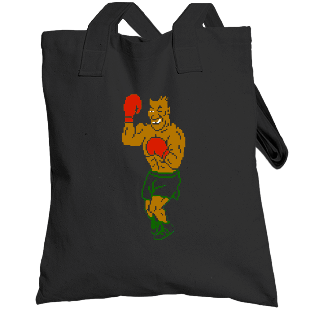 Mike Tyson Punch Out Boxing Video Game Boxer Champion Totebag