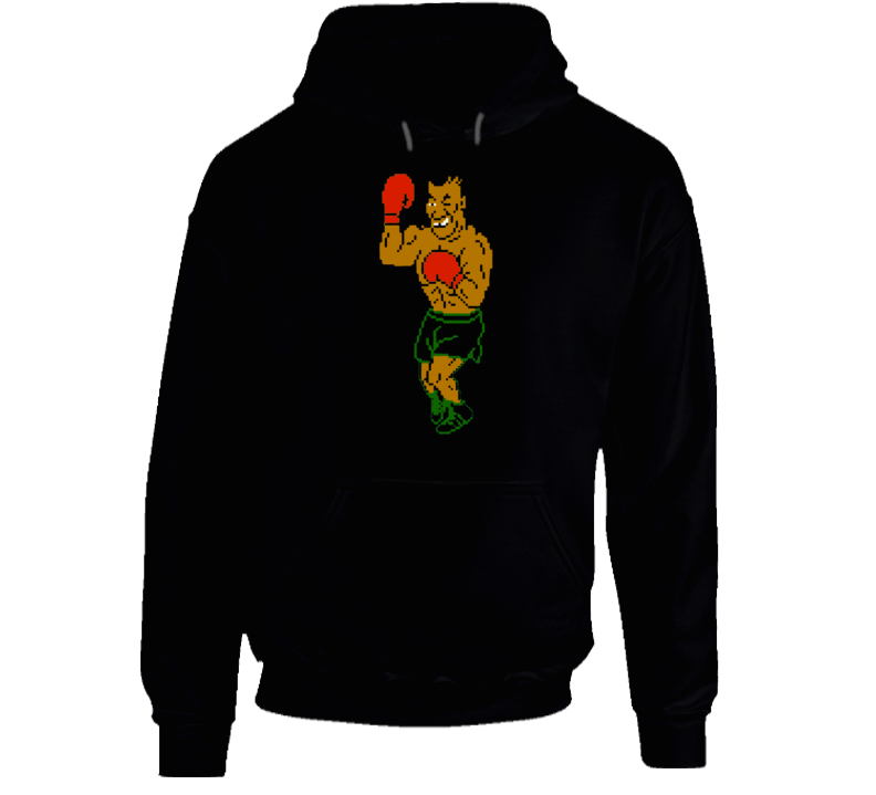 Mike Tyson Punch Out Boxing Video Game Boxer Champion Hoodie