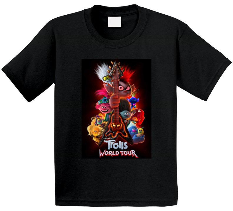 Trolls World Tour New Movie Poster Kids Sequel 2020 T Shirt