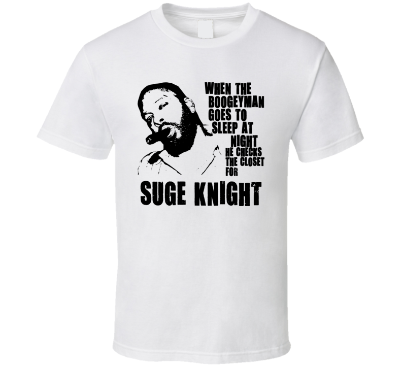 Suge Knight Death Row Records Hip Hop Mogul T Shirt