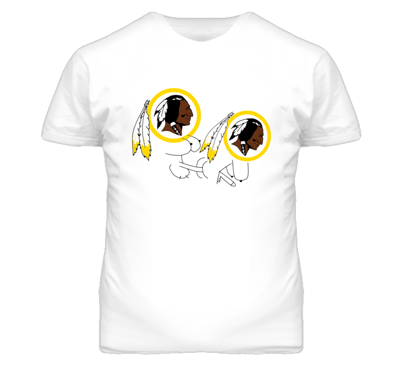 Washington Red Skins Parody South Park Funny Eric Cartman T Shirt