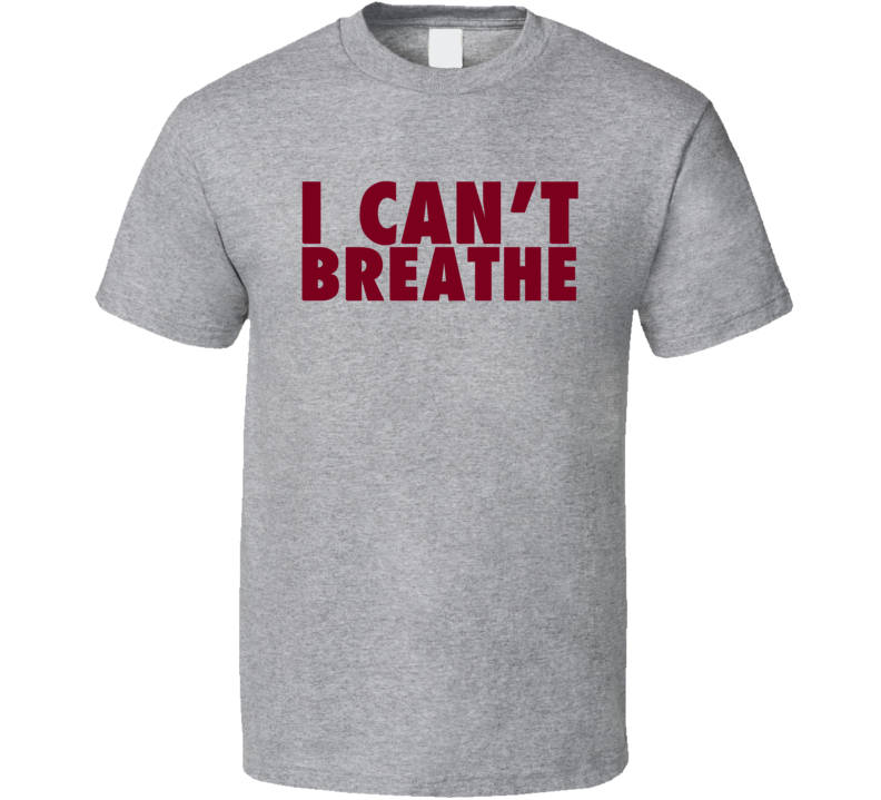 I Can't Breathe Eric Garner Support Honor T Shirt