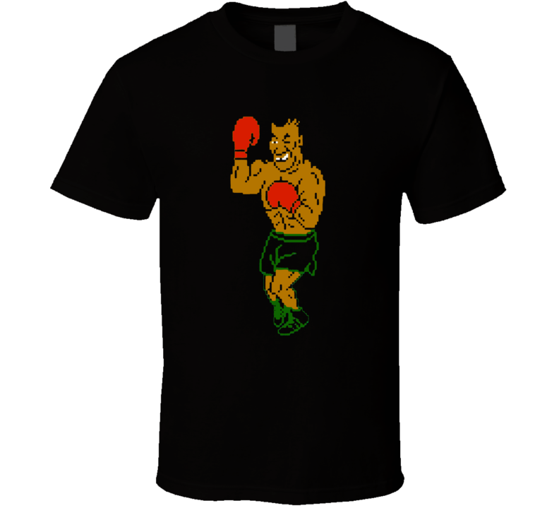 Mike Tyson Punch Out Boxing Video Game Boxer Champion T Shirt