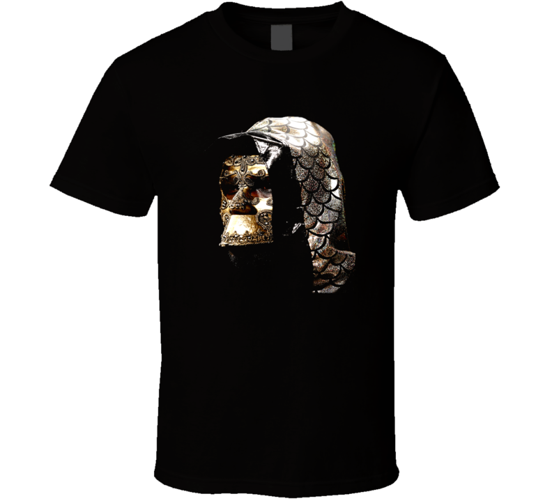 Deontay Wilder Mask Gold Hood Heavyweight Boxer Champion T Shirt