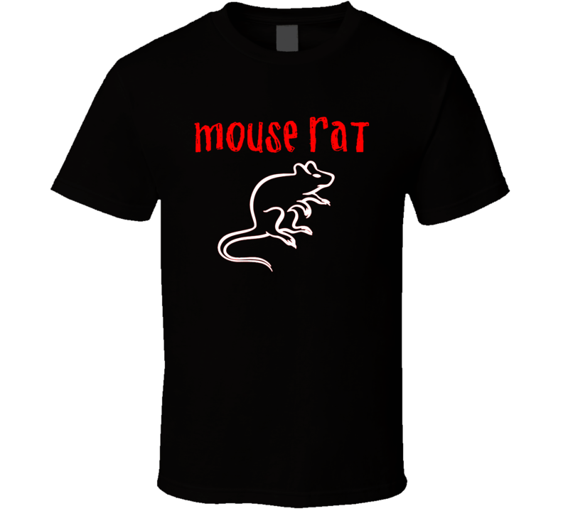 Mouse Rat Parks And Recreation TV Funny T Shirt