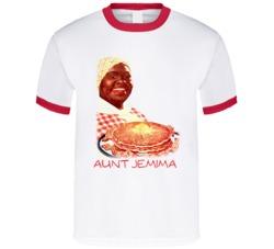 Aunt Jemima Pancake Syrup Mascot T Shirt