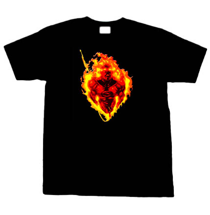 Human Torch Fantasitc 4 Comic Black (2).jpg