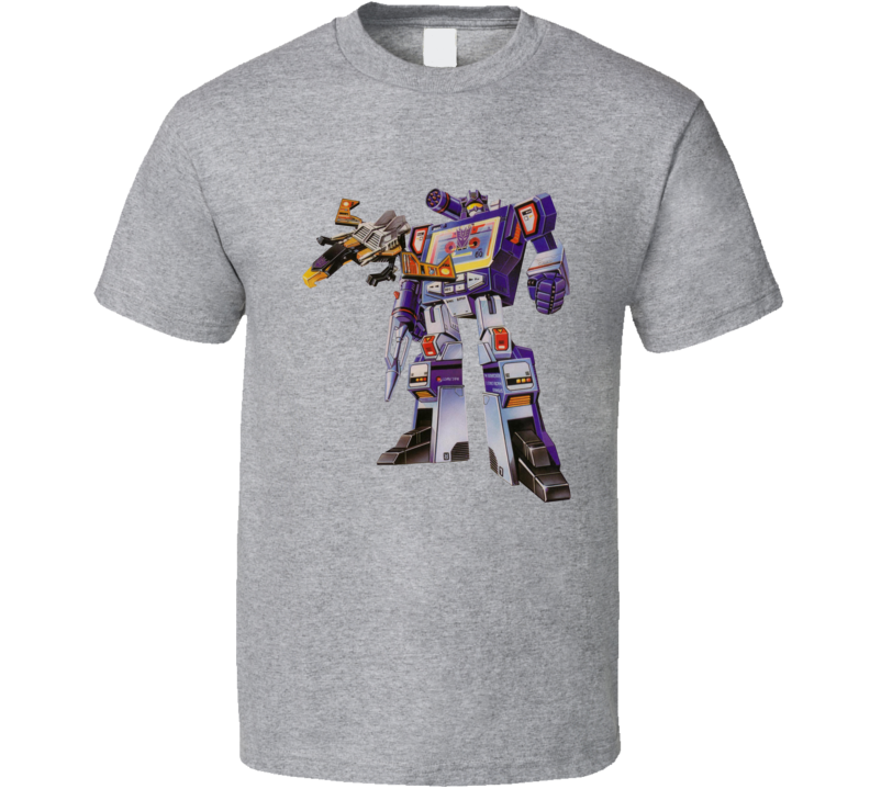 Soundwave Old School Transformers Character T Shirt