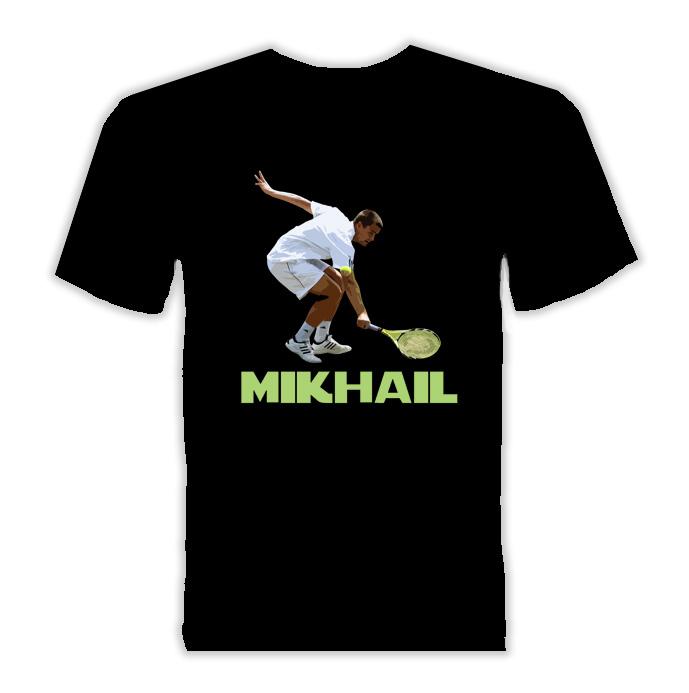 Mikhail Youzhny Russia Tennis T Shirt