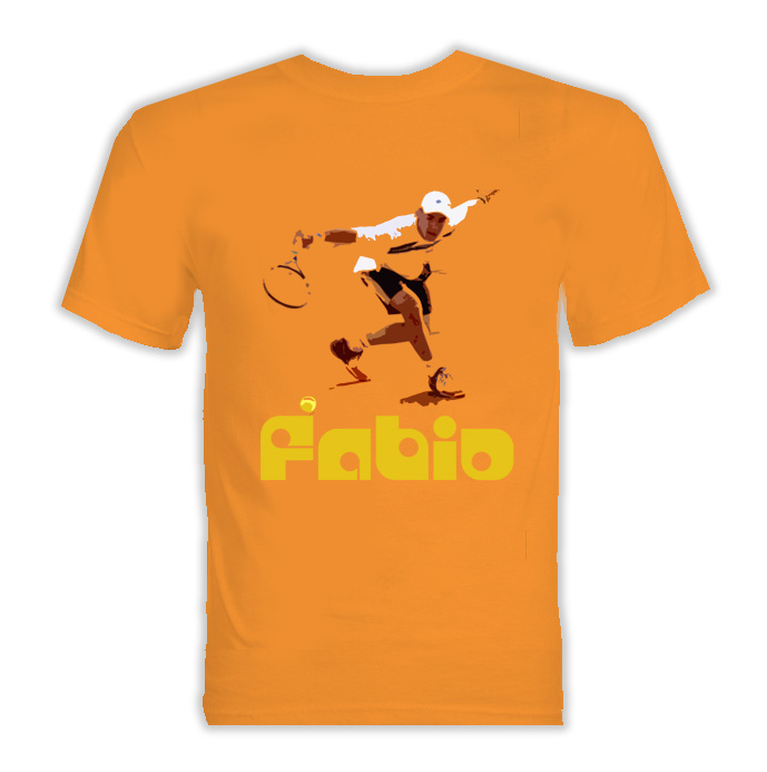 Fabio Fognini Italy Tennis T Shirt