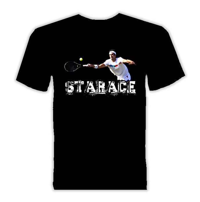 Potito Starace Italy Tennis T Shirt