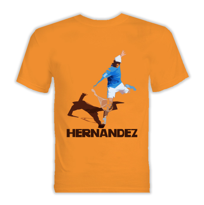 Oscar Hernandez Spain Tennis T Shirt