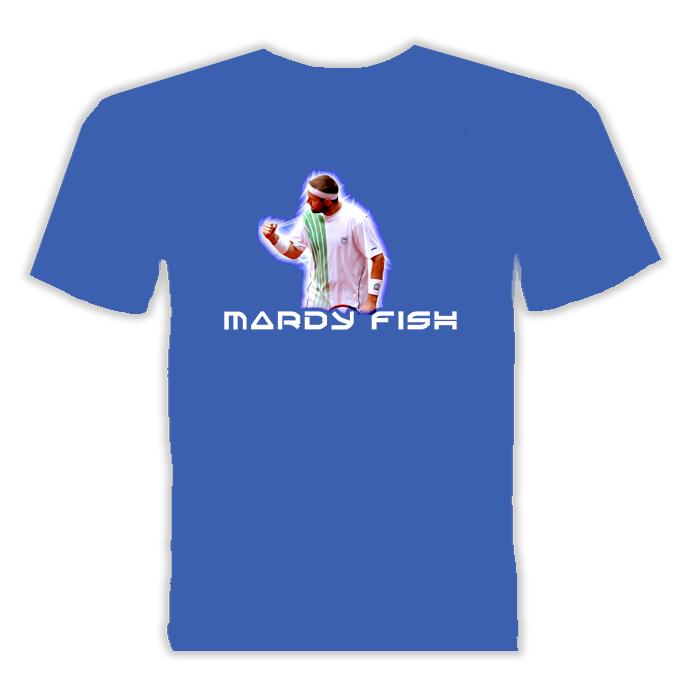 Mardy Fish Tennis Player Sports T Shirt