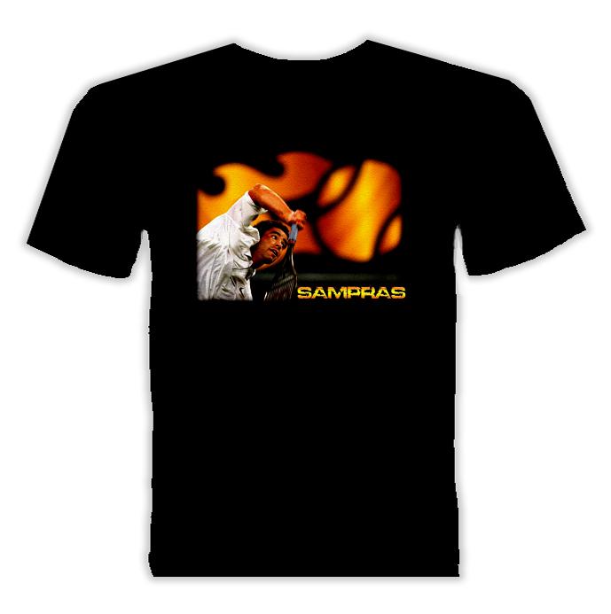 Pete Sampras Tennis Player Sports T Shirt