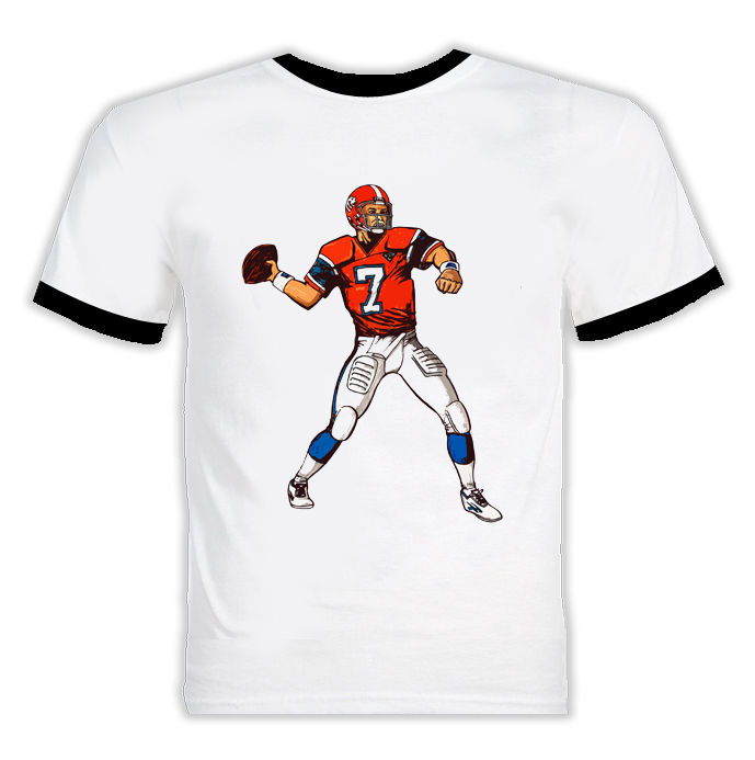 John Elway Football Player Sports T Shirt