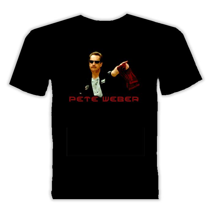 Pete Weber Bowling Player Sports T Shirt