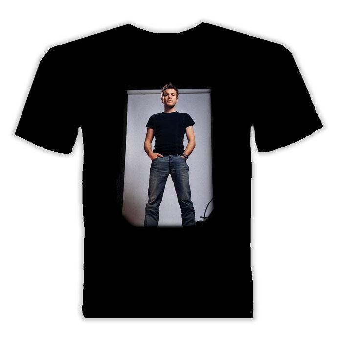 Ewan Mcgregor Movie Actor T Shirt