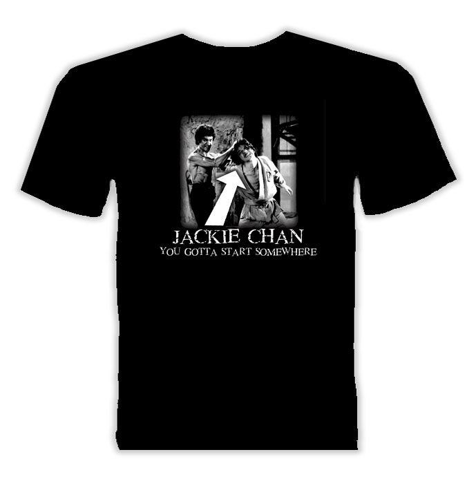 Jackie Chan Movie Actor T Shirt