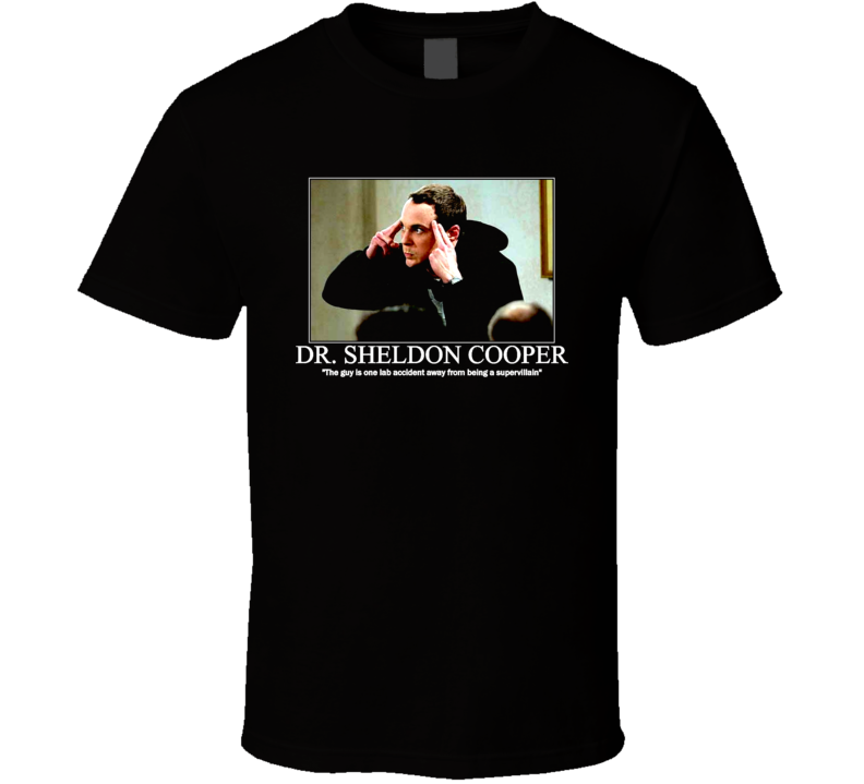 Sheldon Cooper Big Bang Theory T Shirt