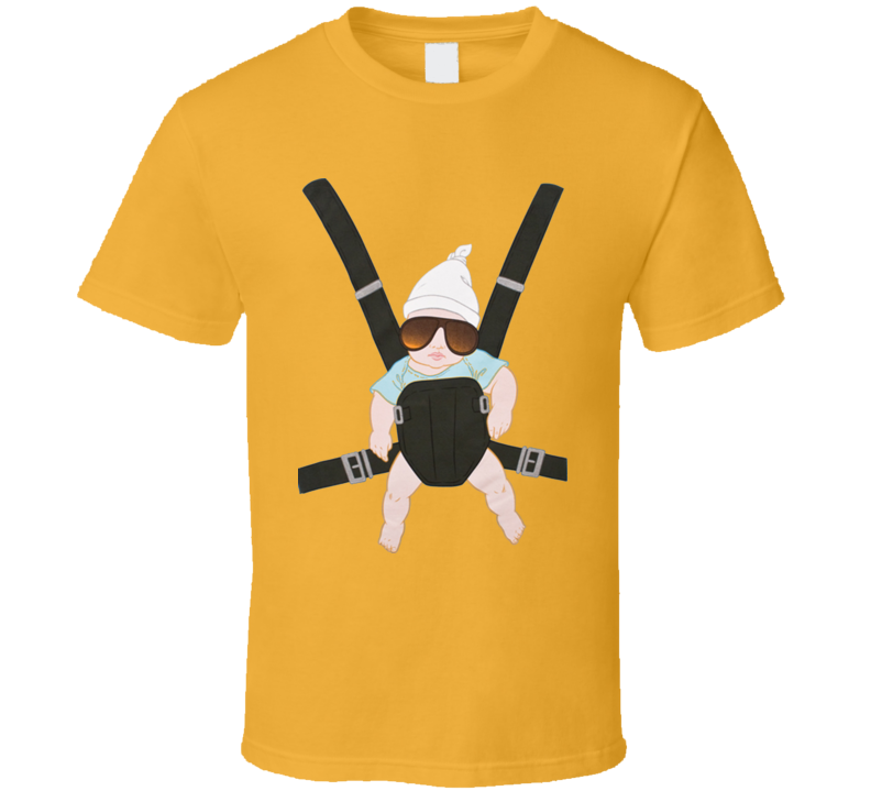 Hangover Baby Carrier Carlos T Shirt