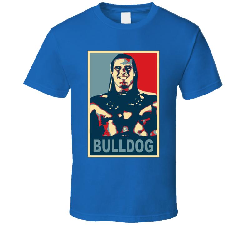 British Bulldog Wrestling Vintage Hope T Shirt