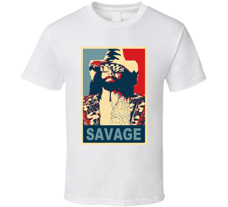 Macho Man Wrestling Vintage Hope T Shirt