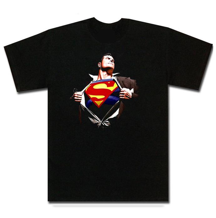 Superman Change Logo Comic Book T Shirt