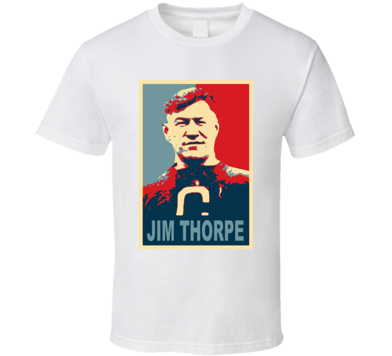 Greatest Jim Thorpe Native American Athelete T Shirt